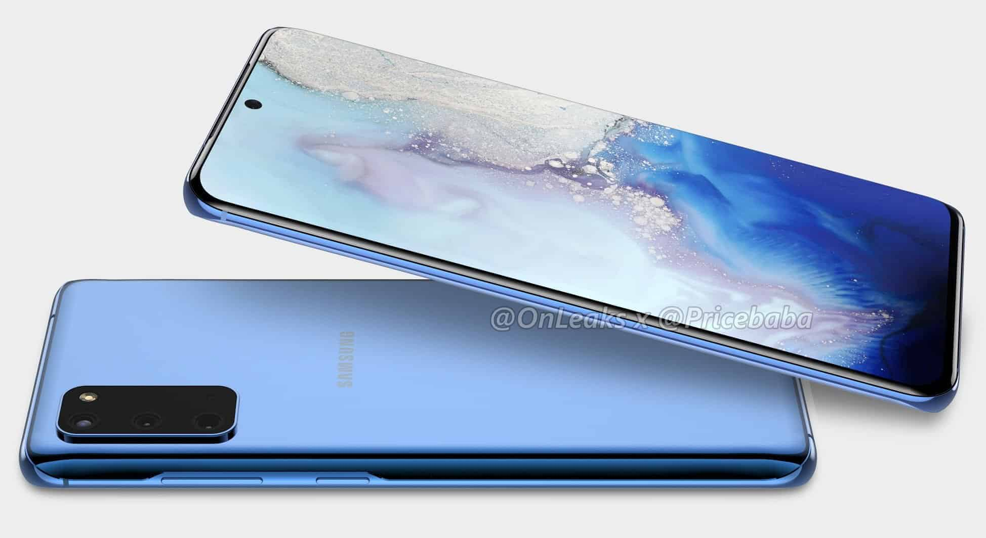 Samsung Galaxy S11e render OnLeaks 4