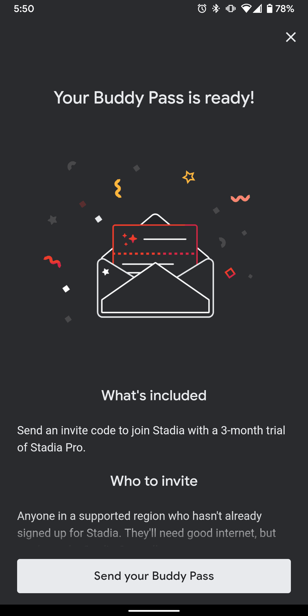 Stadia Friend Codes 2
