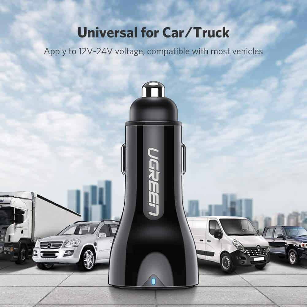 UGREEN 36W wired car charger image 7