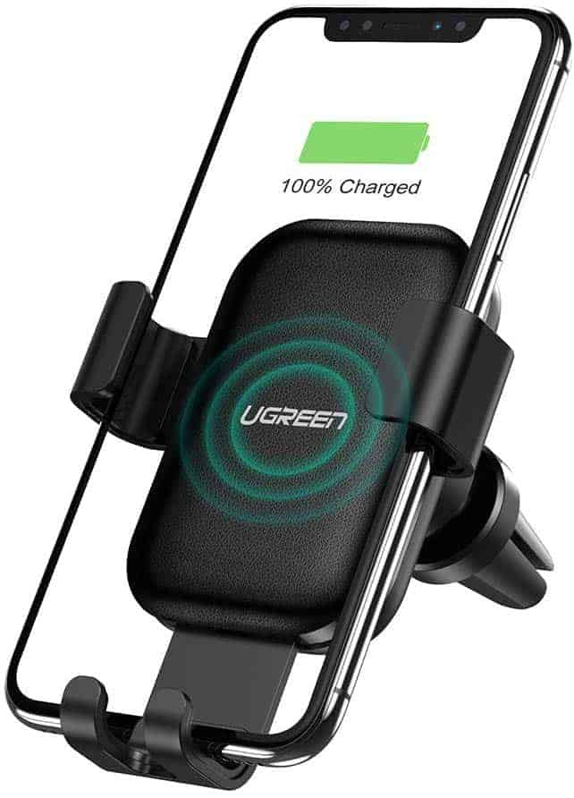UGREEN wireless car mount and wireless charger image 1