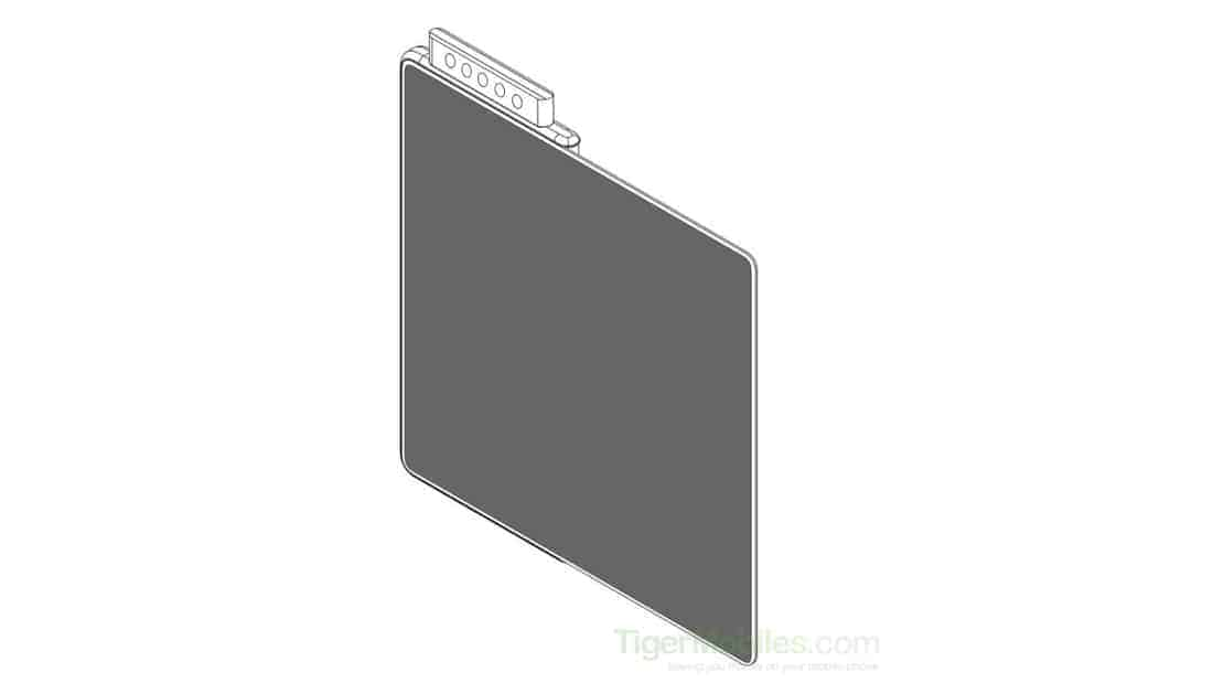 Xiaomi foldable phone with five pop up cameras patent featured