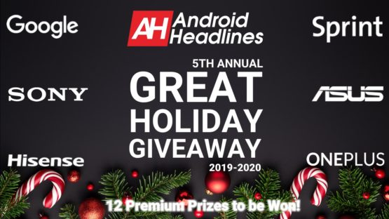 5TH ANNUAL GREAT HOLIDAY GIVEAWAY 2019 2020 ANDROID HEADLINES 2
