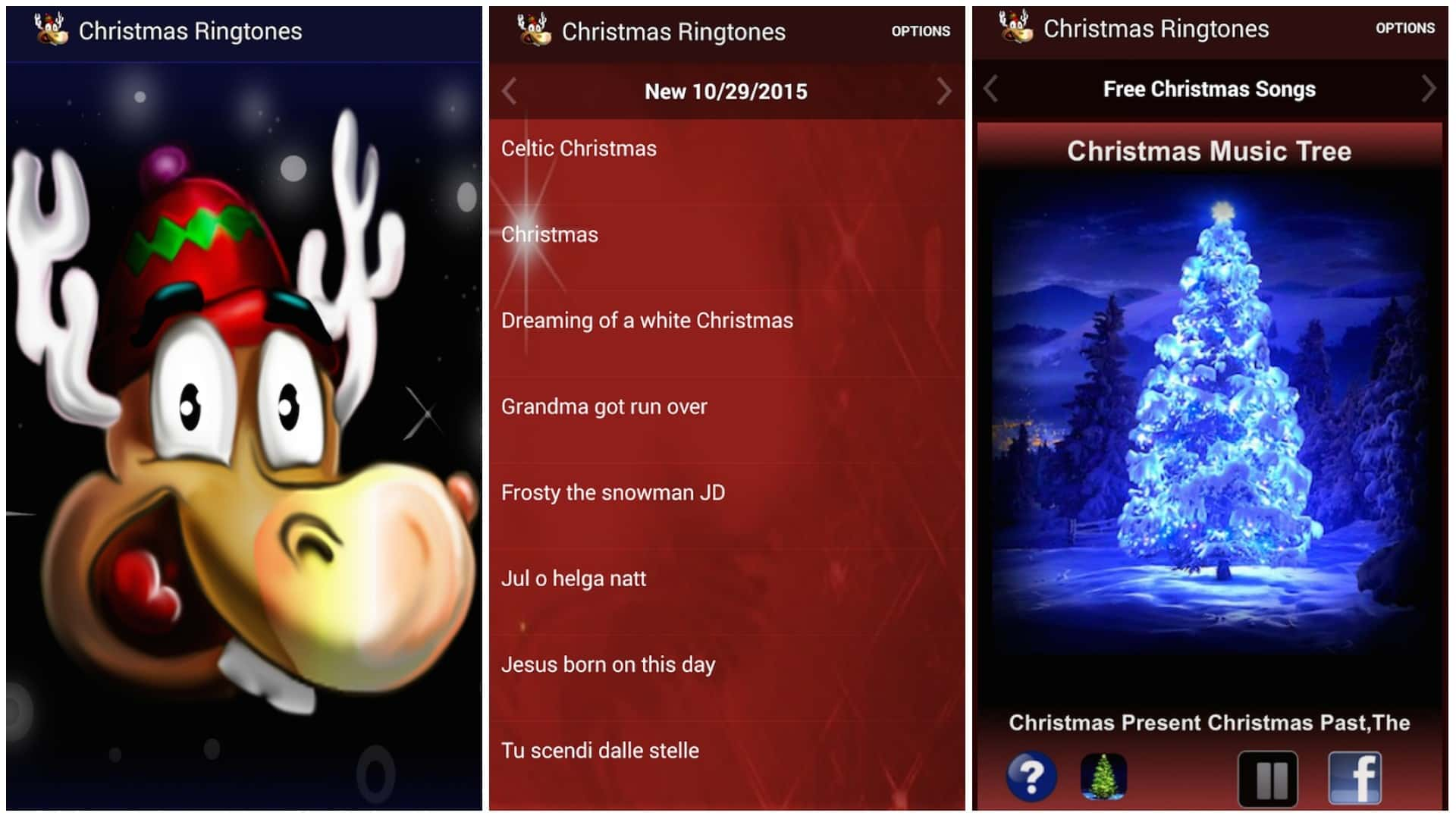 Christmas Ringtones 2019 app image December 2019