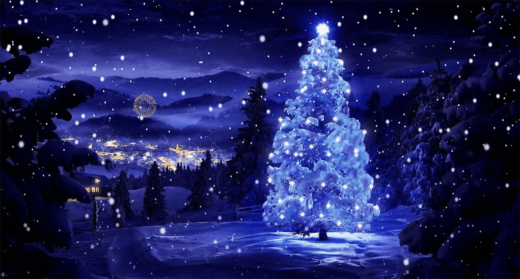 Christmas Tree Live wallpaper app image 1