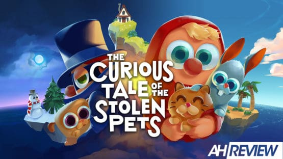 Curious Tale of the Stolen Pets VR title