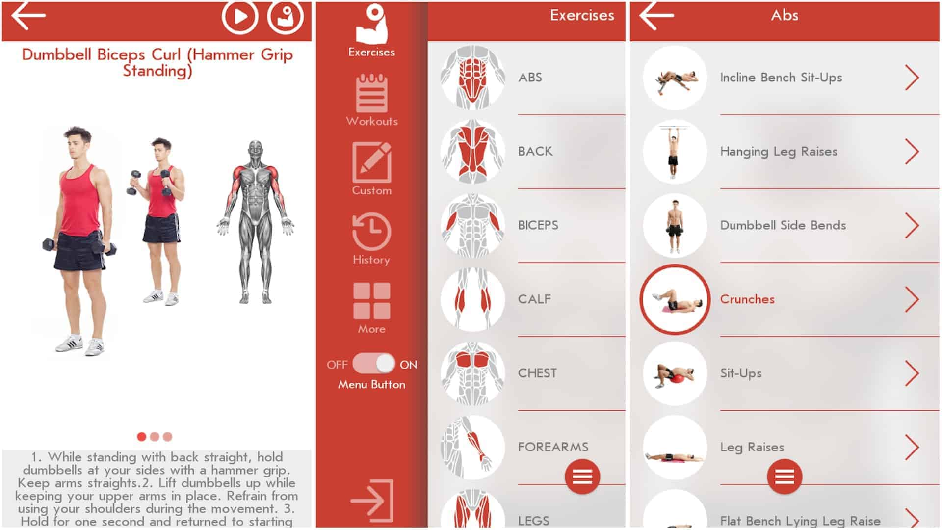 Fitness Bodybuilding app image January 2020