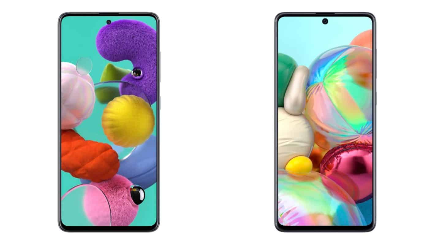 Galaxy A51 and A71 featured