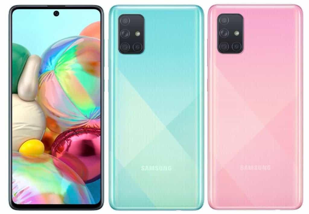 Galaxy A71 image 1