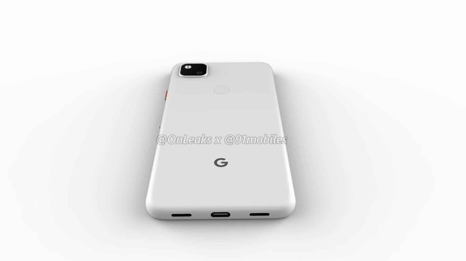 Google Pixel 4a CAD render leak 11