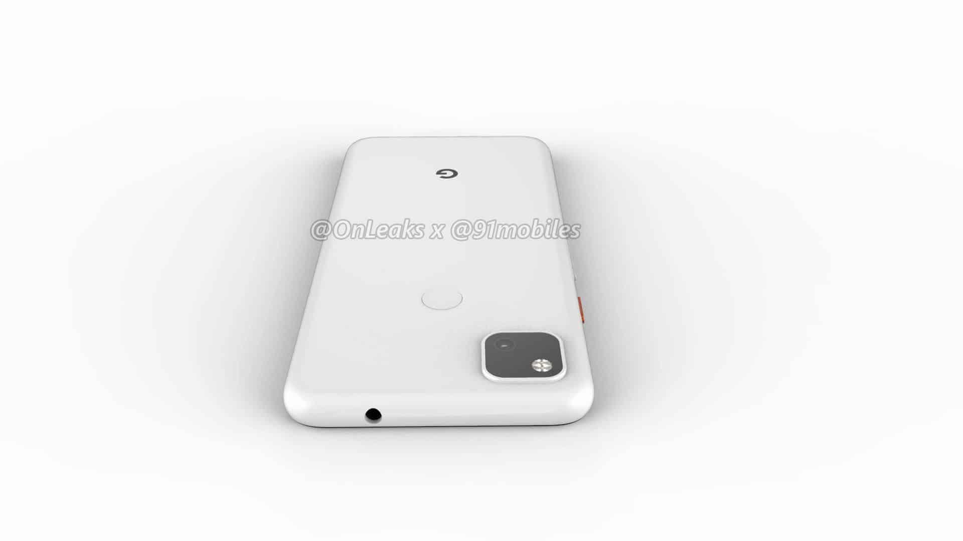 Google Pixel 4a CAD render leak 14