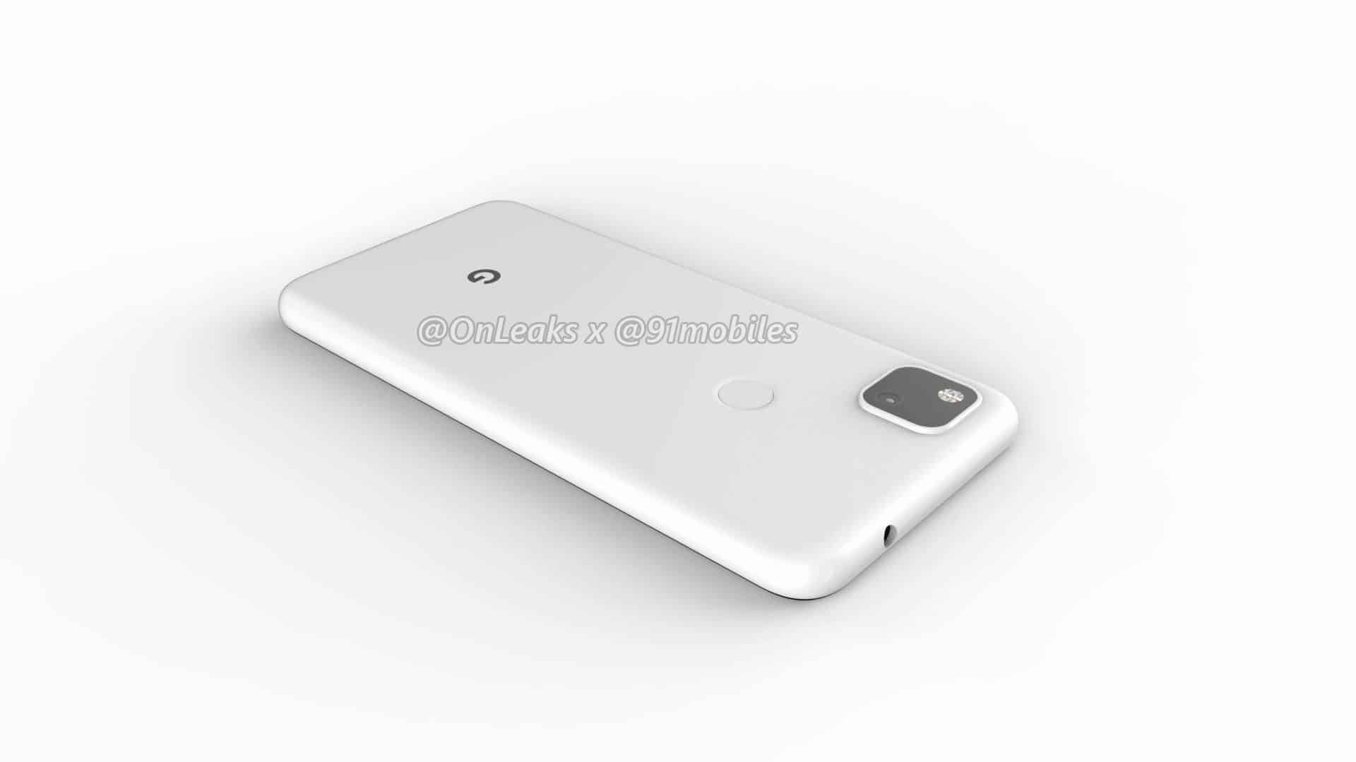 Google Pixel 4a CAD render leak 16