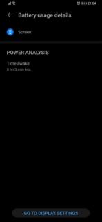 Huawei P30 Pro battery life stats image 5