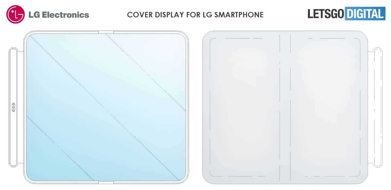 LG flexible display case patent 1