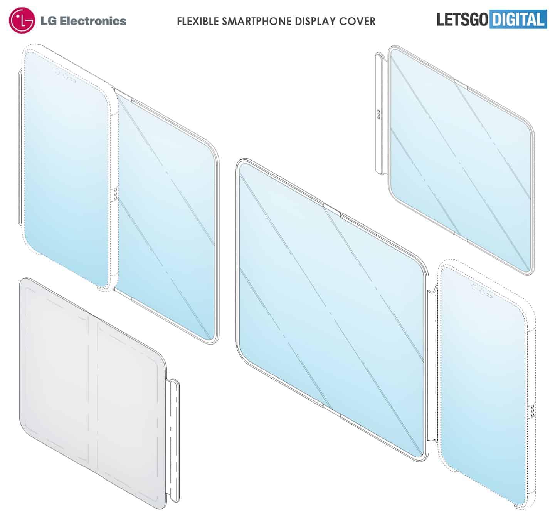 LG flexible display case patent 2