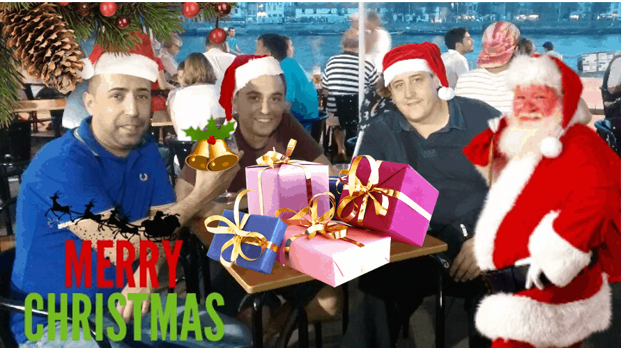 Merry Christmas Photo Stickers image 1