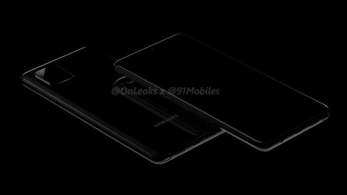 Samsung Galaxy Note 10 Lite aka Galaxy A81 render leak 1