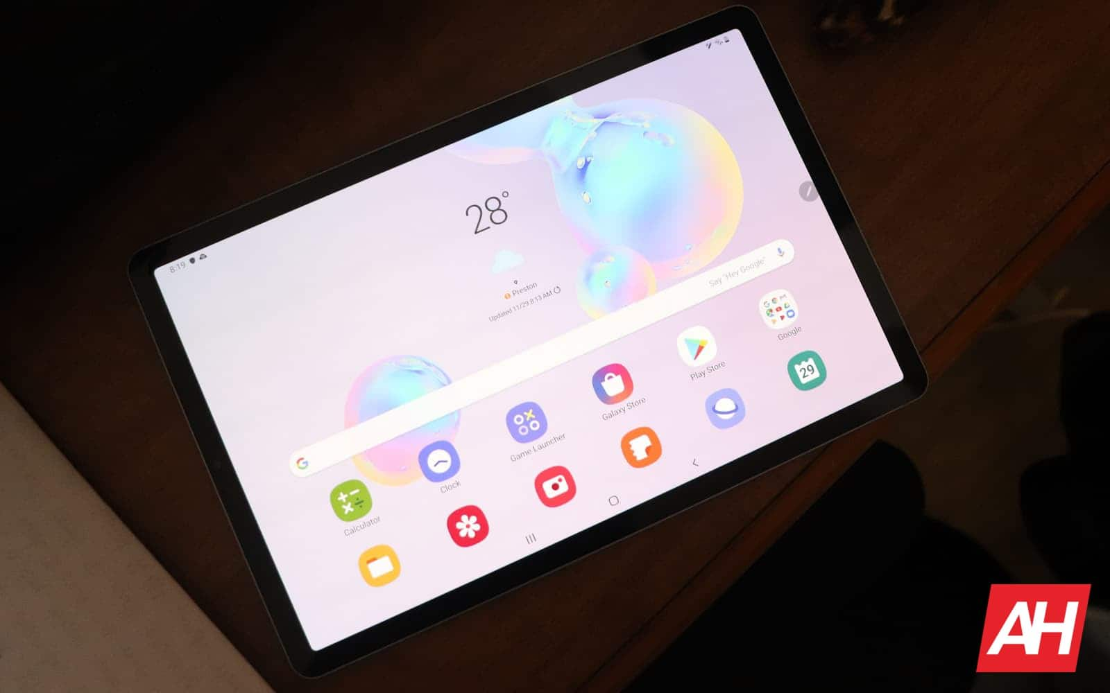 Samsung Galaxy Tab S6 Review 04 Display AH 2019