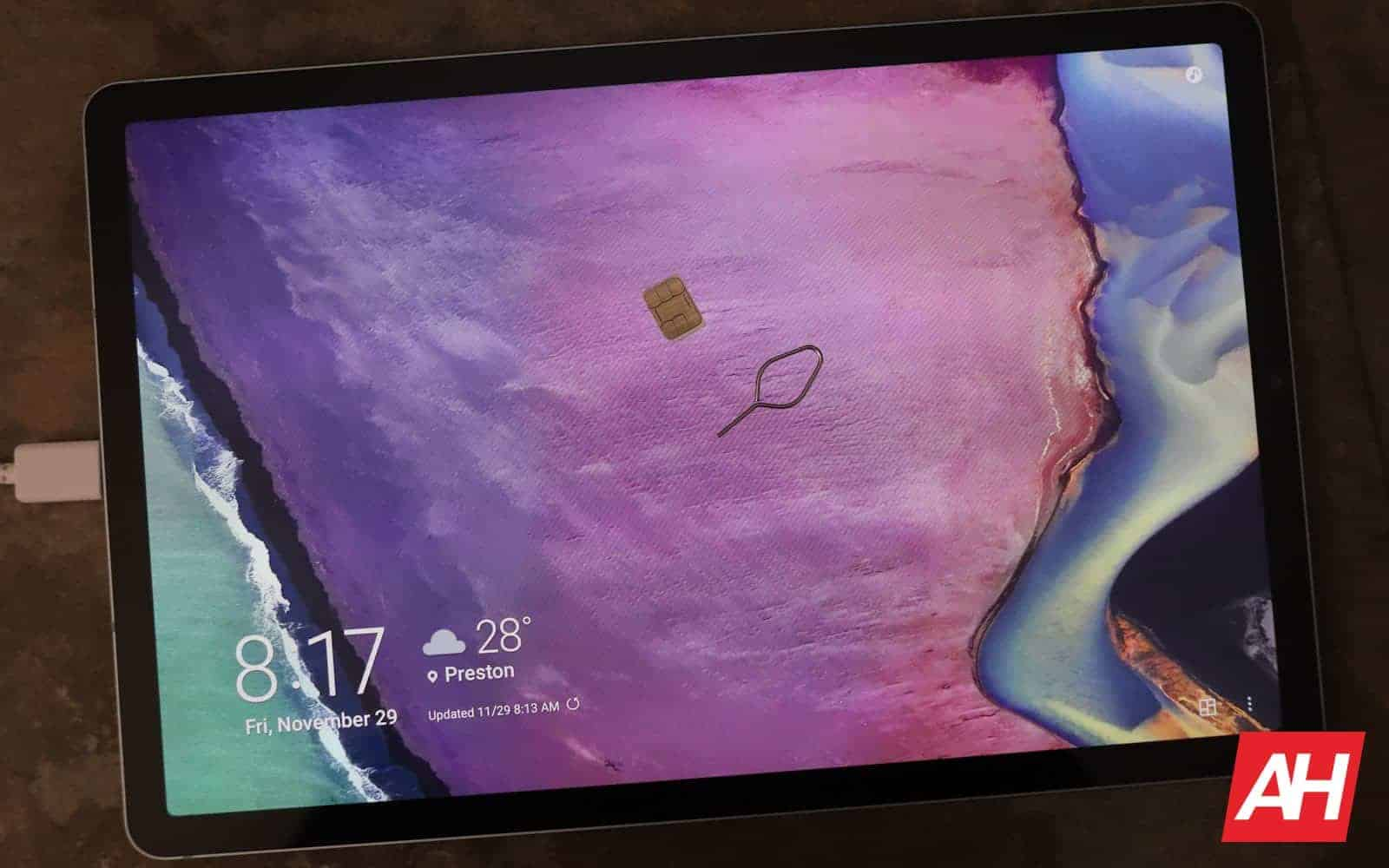 Samsung Galaxy Tab S6 Review 08 Connectivity AH 2019