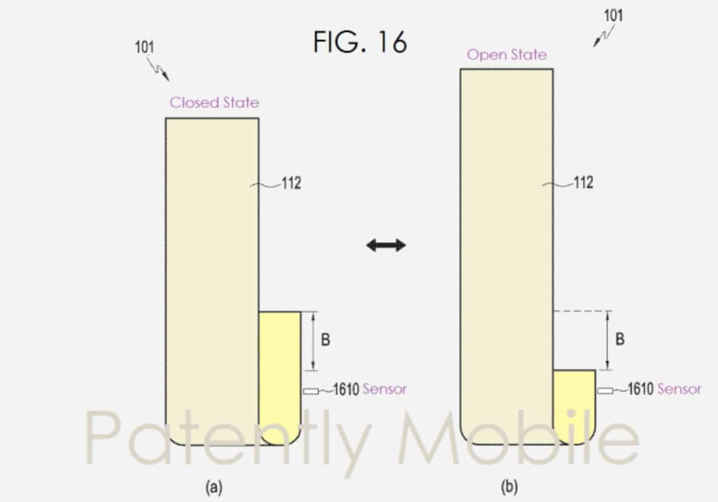 Samsung Patent screens roll Patently Mobile 02