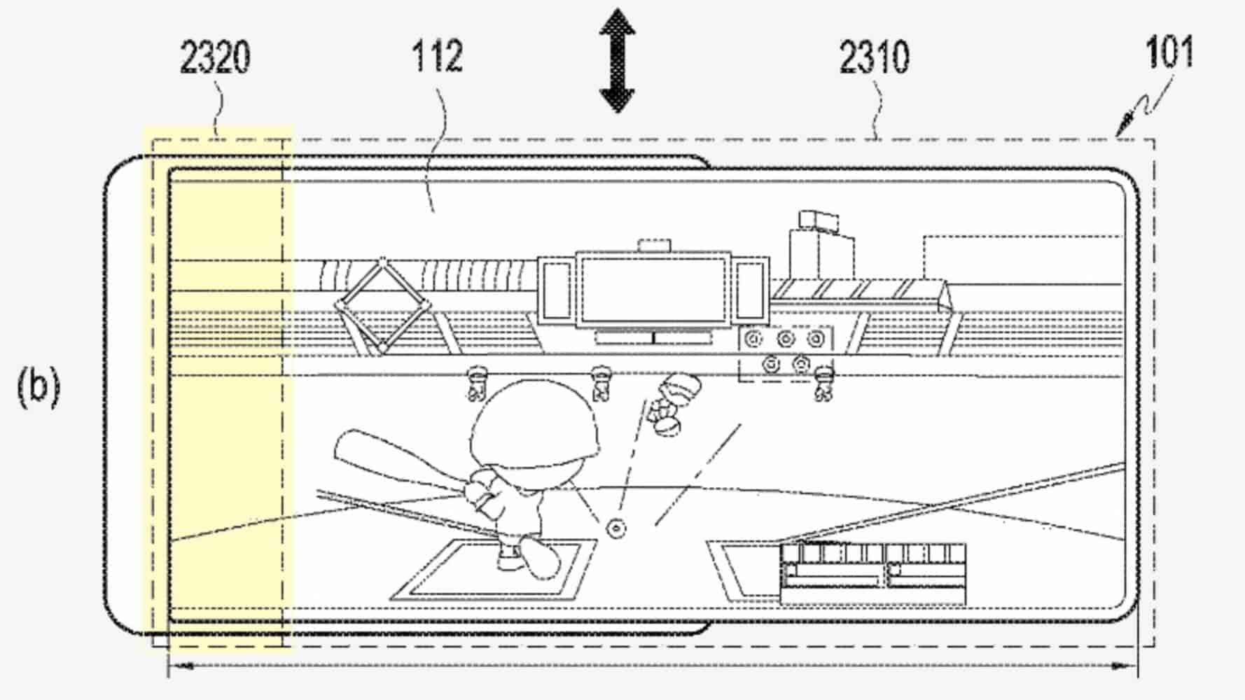 Samsung Patent screens roll Patently Mobile 04