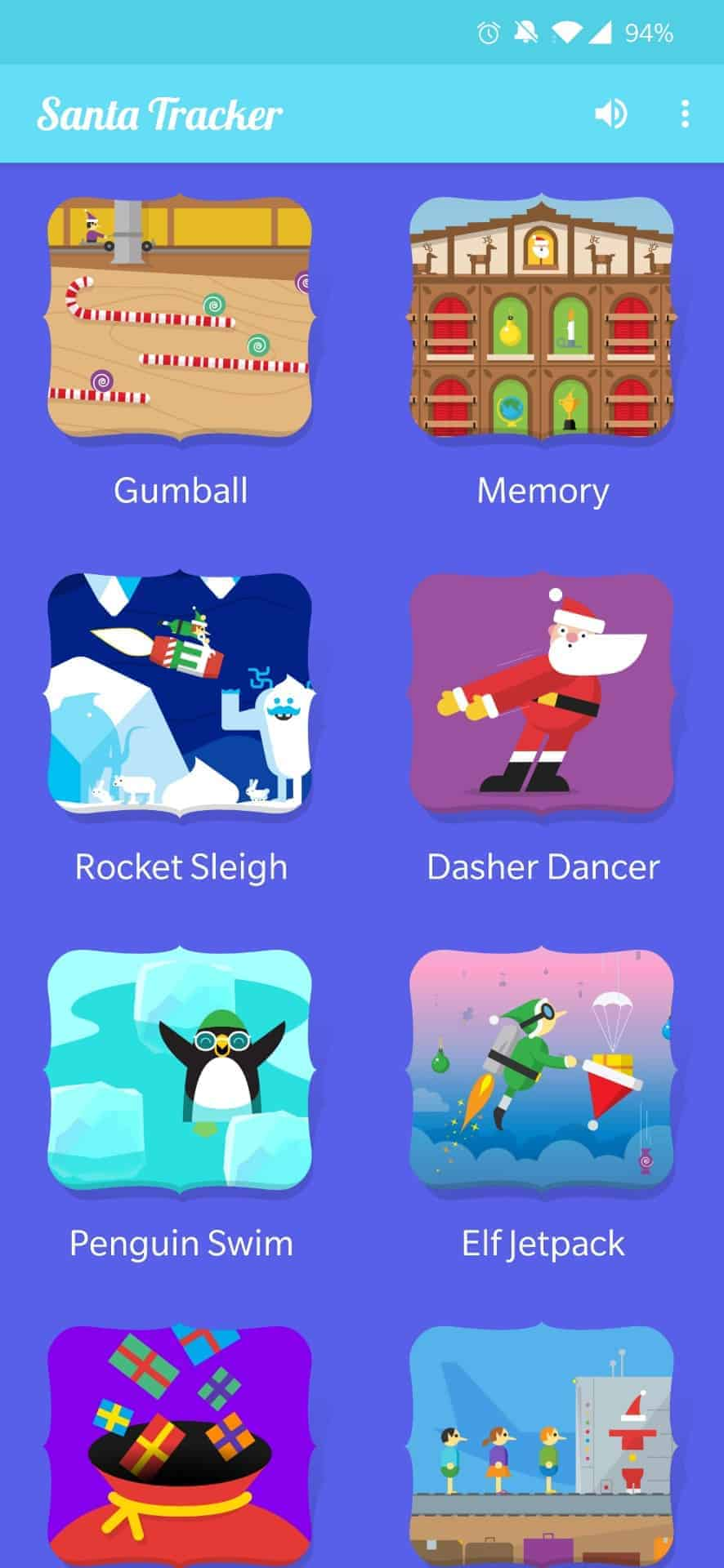 Santa Tracker App AH screenshot 2019 4