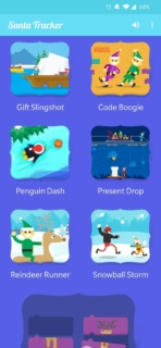 Santa Tracker App AH screenshot 2019 7