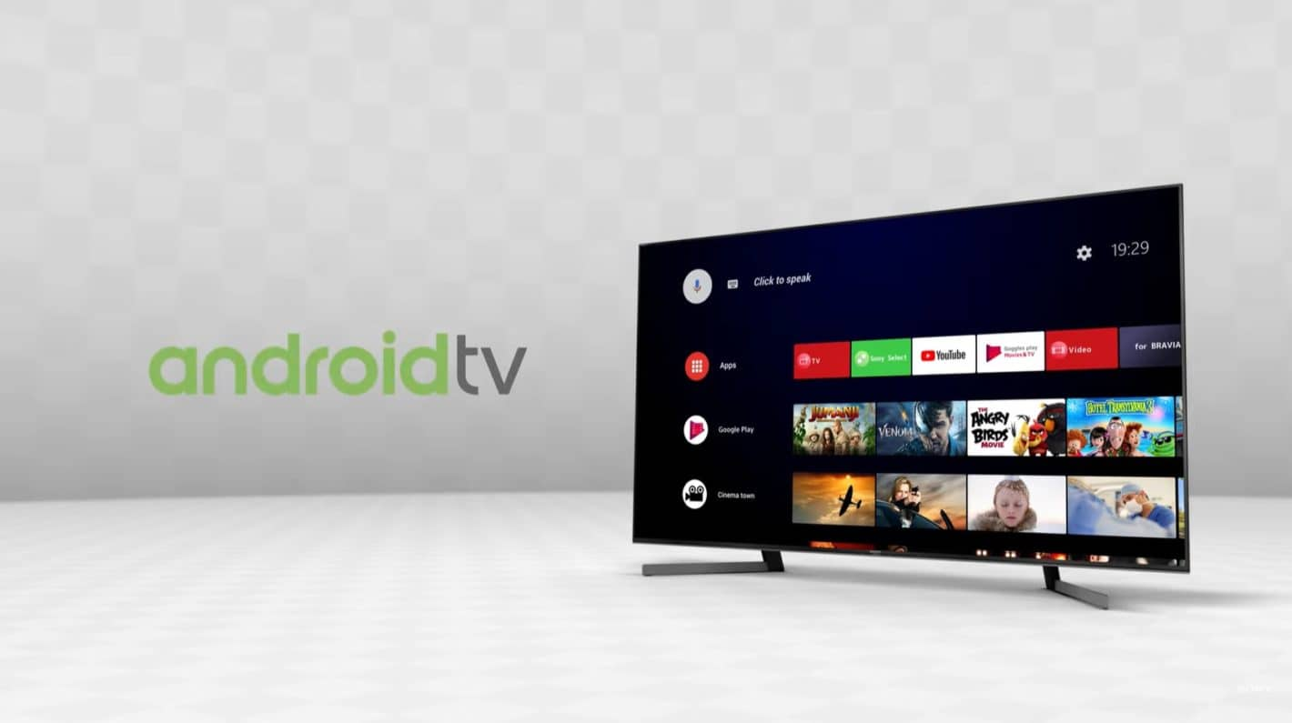 Android 9 Pie Update Heading Out To Select Sony Android TVs