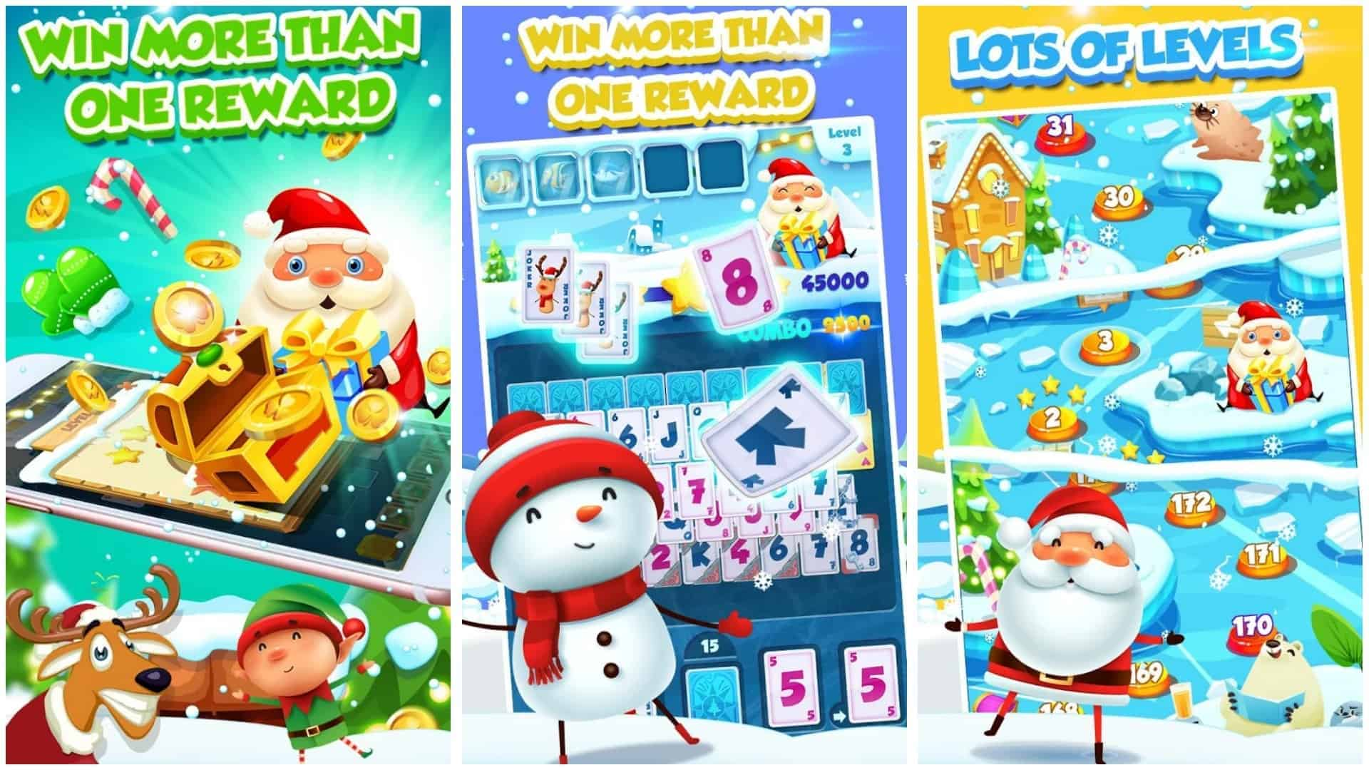 Winter Solitaire app image December 2019