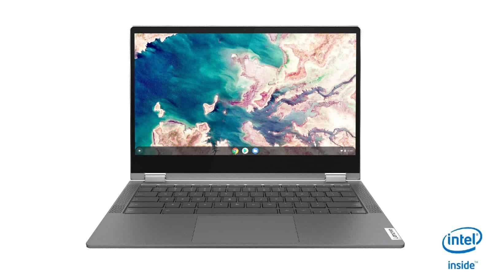 02 IdeaPad Flex 5 Chromebook 13 Graphite Grey Facing JD