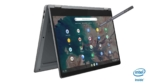 17_IdeaPad_Flex_5_Chromebook_13_Graphite_Grey_Right_Tent_Mode_with_Pen