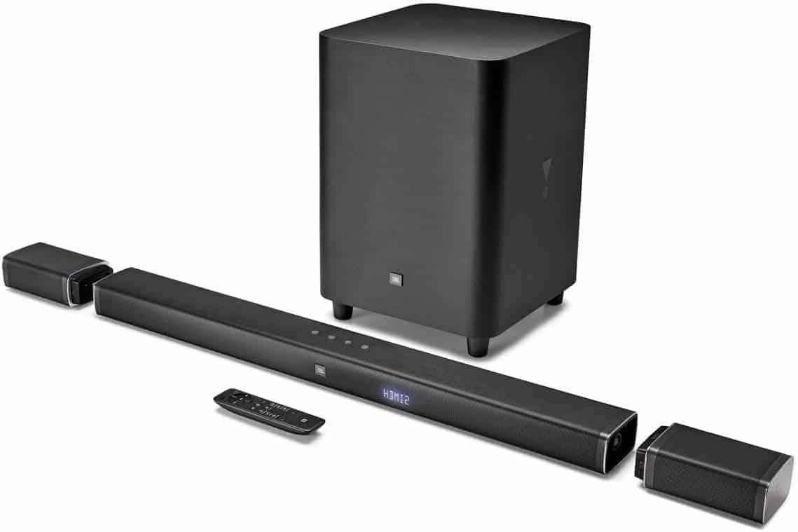 JBL Bar 5.1 4K Ultra HD 5.1-Channel Soundbar - Amazon