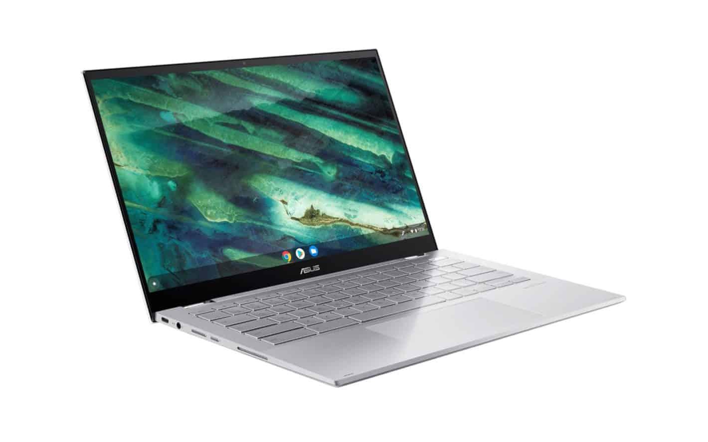 ASUS Chromebook Flip C436 presser 01