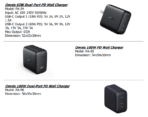 AUKEY Omnia series chargers spec info 2