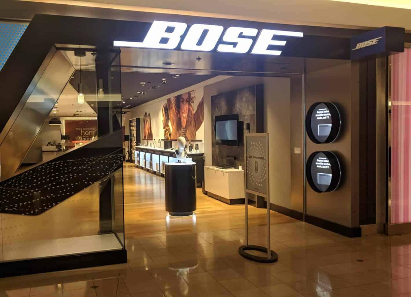 Bose retail stores