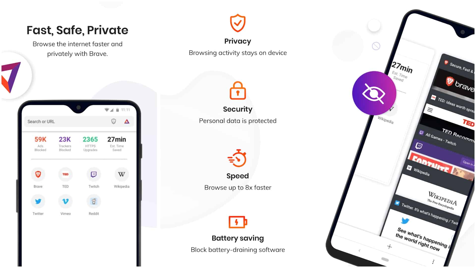 Brave Browser app image January 2020