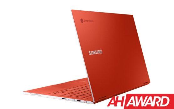 Galaxy Chromebook Dynamic Red presser rescale ah award
