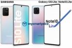 Galaxy S10 Lite and Note 10 Lite promo image leak 1