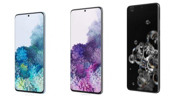 Galaxy S20 series marketing images leak