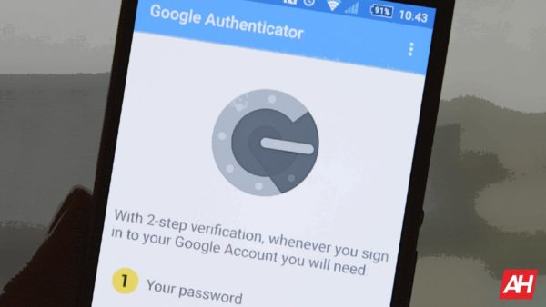 Google Authenticator Password Illustration AH