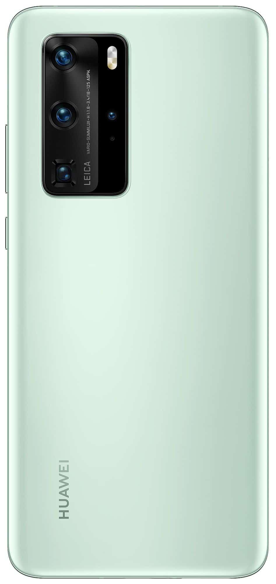 Huawei P40 Pro Mint Green render leak 1