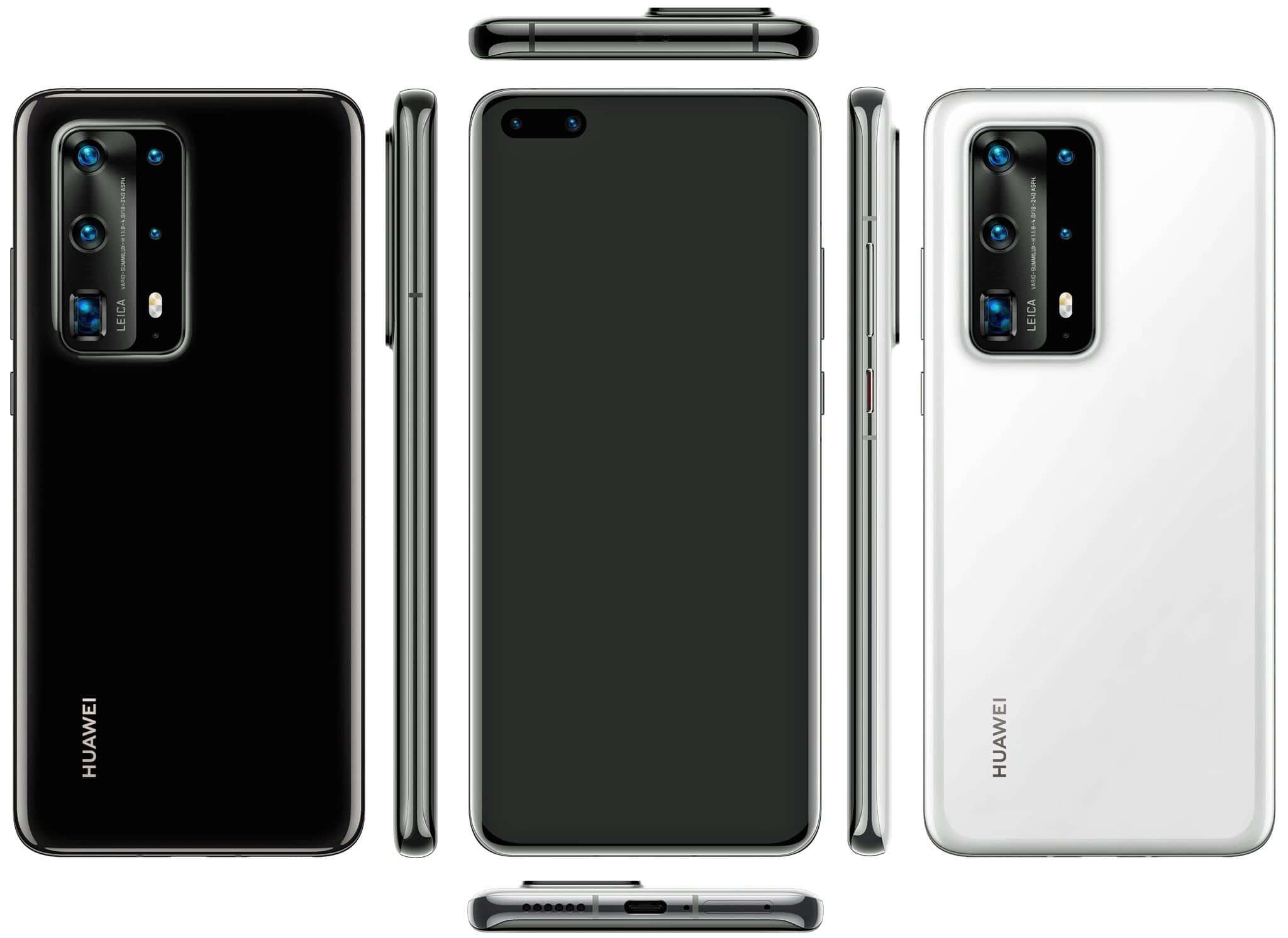 Huawei P40 Pro PE render evleaks 1