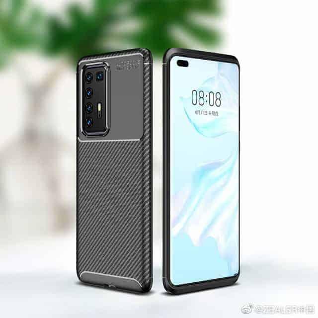 Huawei P40 Pro third party case leak 1