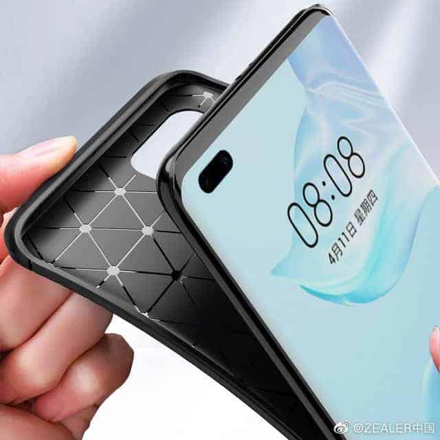 Huawei P40 Pro third party case leak 2