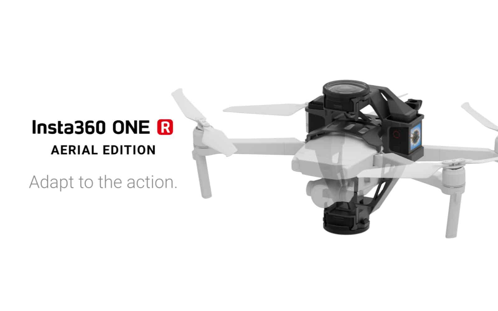 Insta360 One R aerial edition presser