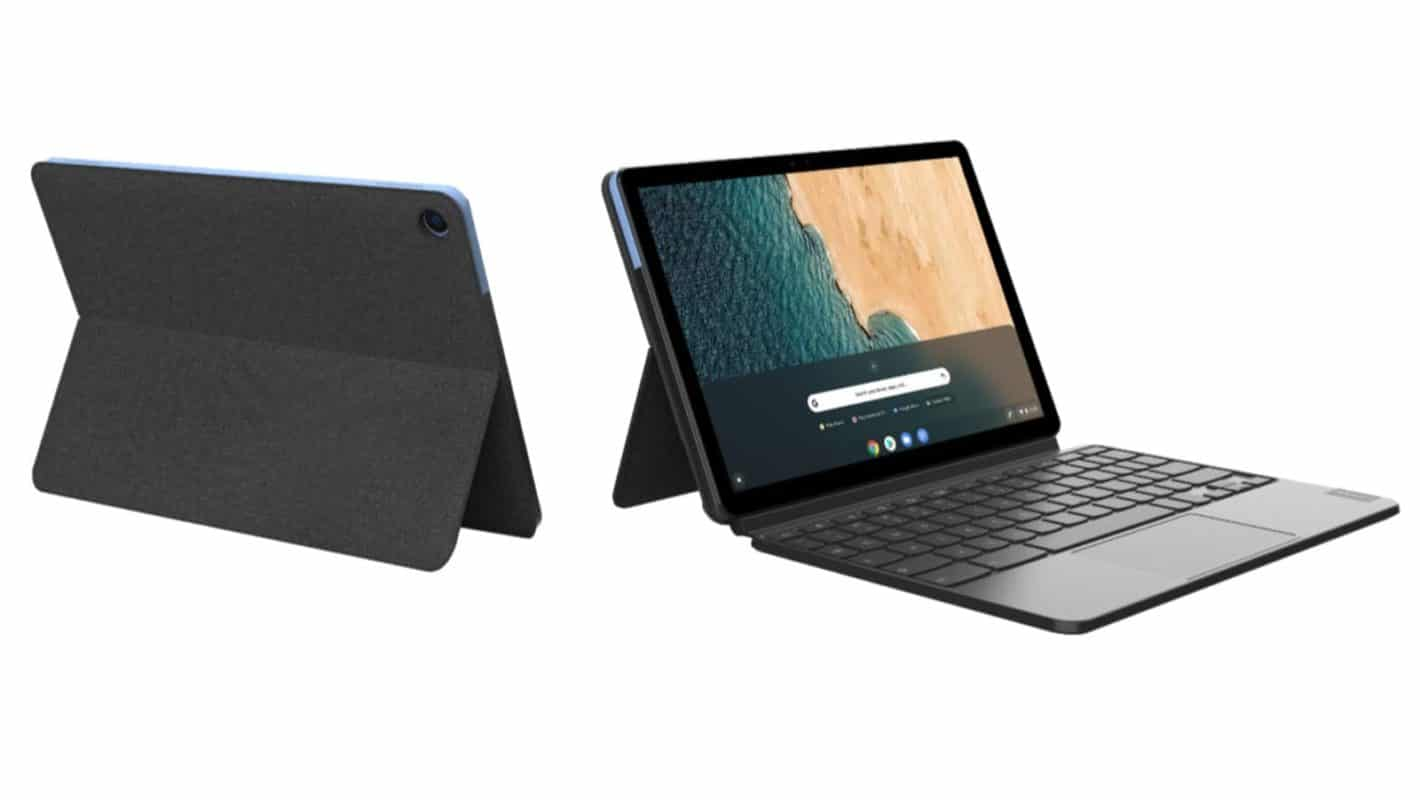 Lenovo IdeaPad Duet Chromebook attached