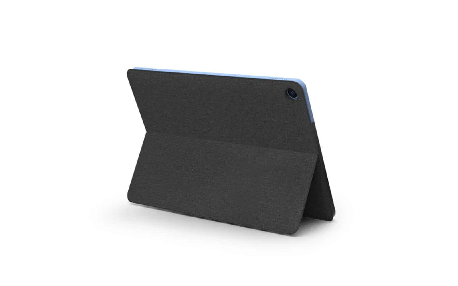 Lenovo IdeaPad Duet rear perspective biew