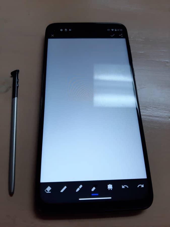 Motorola Moto G Stylus real life image leak 1