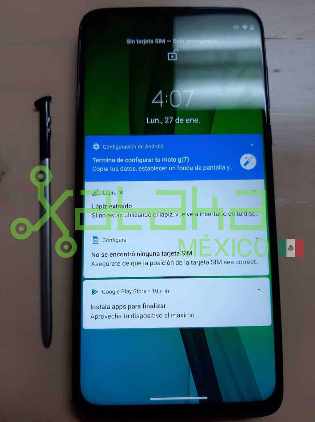 Motorola Moto G Stylus real life image leak 2