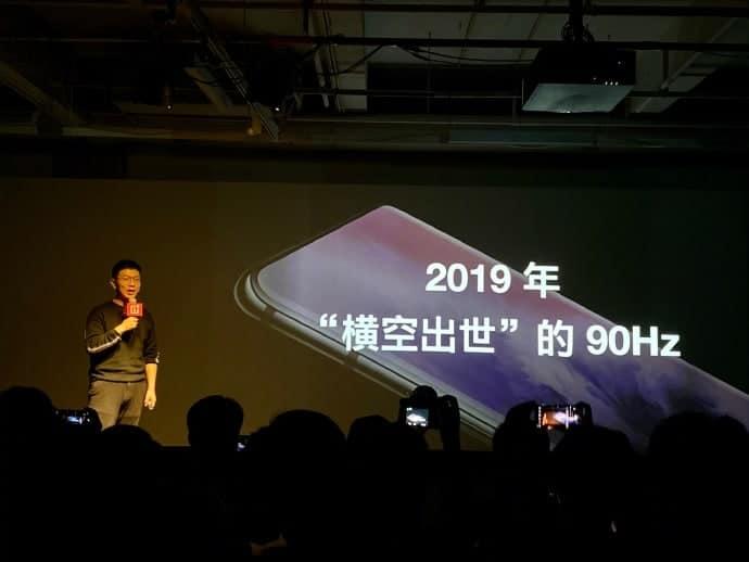 OnePlus 120Hz display announcement 1