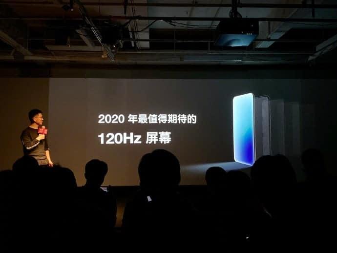 OnePlus 120Hz display announcement 2